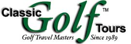 Classic Golf Tours - Golf Travel Masters since 1989